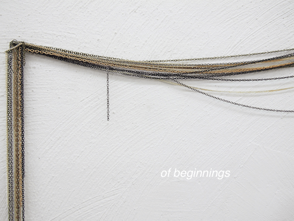 of beginnings
